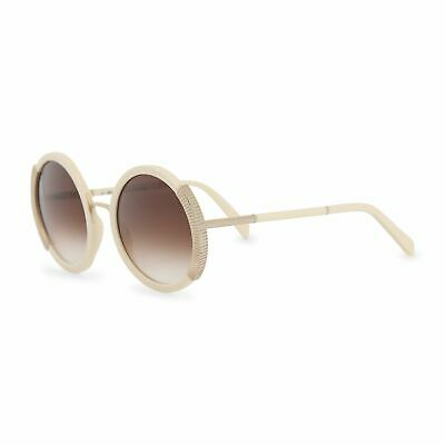 6ee12562d Balmain Women's Round White Sunglasses Gradient Lenses Acetate Frame UV2