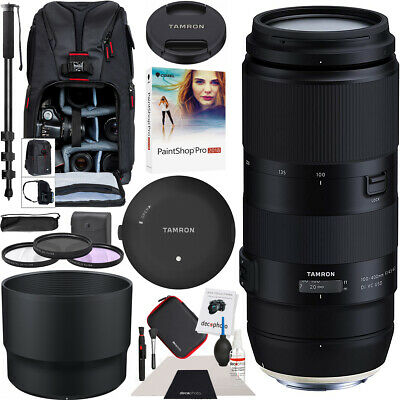 Tamron 100-400mm F/4.5-6.3 Di VC USD Lens A035 for Nikon + Tap-in Conosole Kit