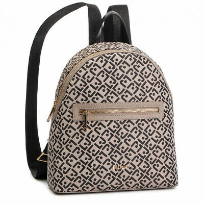Dettagli su BORSA LIU JO ZAINO TIBERINA A19074 BAG BACKPACK NERO BLACK SALDI 2019 NUOVO NEW