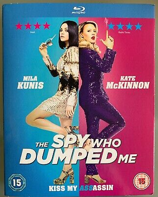 The Spy Who Dumped Me Blu-ray Sealed/New Mila Kunis