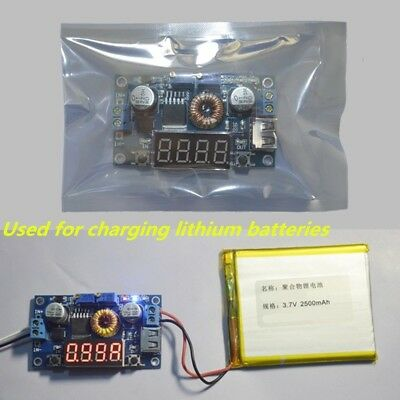 DC-DC 5-36V to 1.25-32V 5A LED Drive Lithium Battery Charger Step Down Module