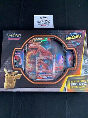DETECTIVE PIKACHU CHARIZARD-GX SPECIAL CASE FILE 7 PACKS Factory Sealed