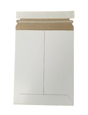 """6"""" x 8"""" Document/Photo Self - Seal Rigid Stay Flat Mailer/Envelope (15 Pieces)"""