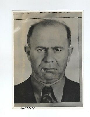 1940 Brooklyn Racketeer Extortion Assault Photo Samuel Gassberg Los Angeles 5X7
