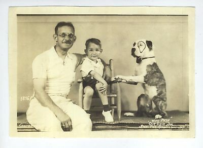 PETE THE PUP Our Gang 1937 RARE Original Little Rascals Atlantic City Photo