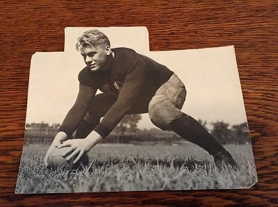 1935 President Gerald Ford  RARE!!!!!!!!! Michigan football Press Type I Photo