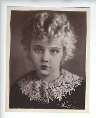 JEAN DARLING c1931 SIGNED PHOTO OUR GANG Little Rascals Hal Roach VERY YOUNG!!!!
