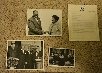MARTIN LUTHER KING personal photo album rare aunt civil rights autographs 1977