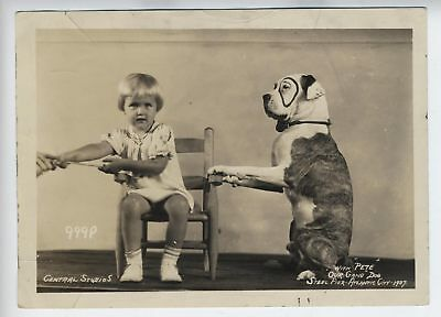 PETE THE PUP Our Gang 1937 RARE Original Little Rascals Atlantic City Photo 1