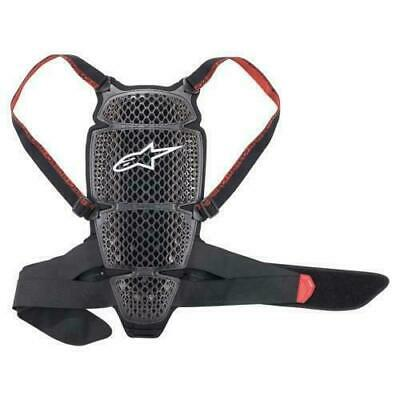 Alpinestars KR-Cell Motorcycle Back Protector Level 1 Smoke Black Red