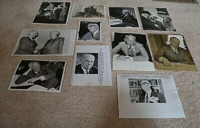 26  General Motors Alfred P. Sloan President Wire Photos Vintage Original