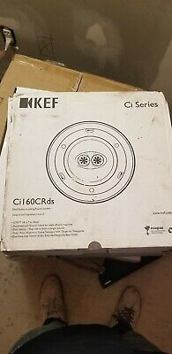 KEF Ci160CRDS Dual Stereo In-Ceiling Round Speaker 1 SPEAKER ONLY