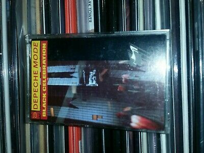 DEPECHE MODE - Black Celebration -  Cassette Tape Album - 1986 - RARE