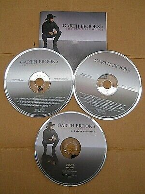 The Ultimate Hits by Garth Brooks (CD, Nov-2007, 2 CD + DVD, Pearl) 67 TRACKS!