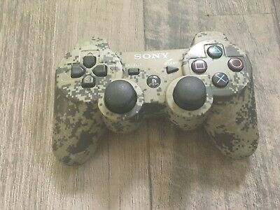 Official Sony Playstation 3 Camo Wireless Controller PS3 Digital Camouflage