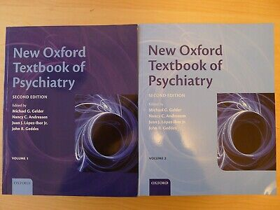 New Oxford Textbook of Psychiatry (second edition)