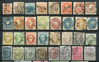 AUSTRIA Early M&U Lot 50 Stamps