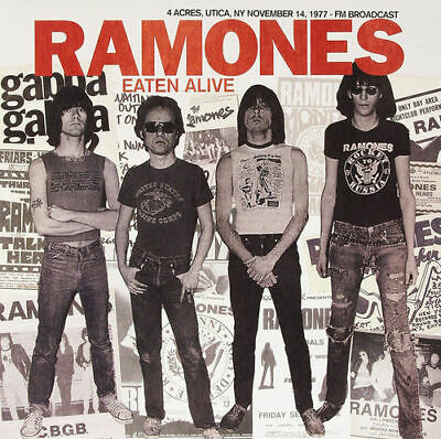 CD - The Ramones : Eaten Alive: 4 Acres, Utica, NY, November 14, 1977 (2015)