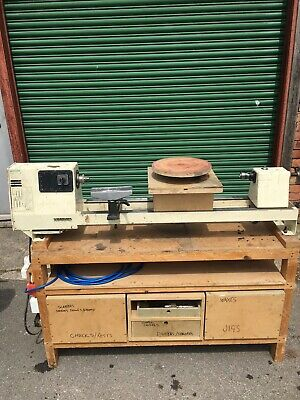 Woodmen Wood Lathe, Turning, Extras, Workbench, Table, Single Phase, Accessories