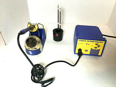 Hakko Fp-102 With Fm-2027 Wand, Holder, And 599B Tip Cleaner