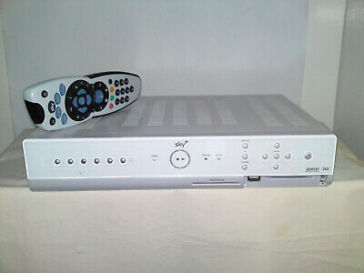 AMSTRAD Satellite Receiver 80Gb DRX280 Sky+ Box -Twin scart sockets-RS-232 port
