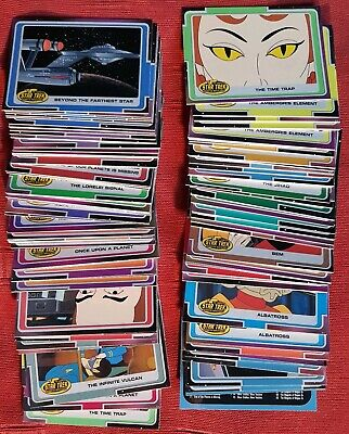 Star Trek The Complete Animated Adventures Card Set