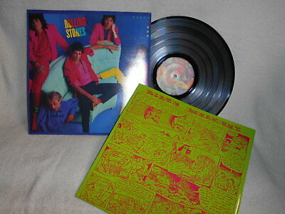 """12"""" Lp The Rolling Stones -- Dirty Work"""
