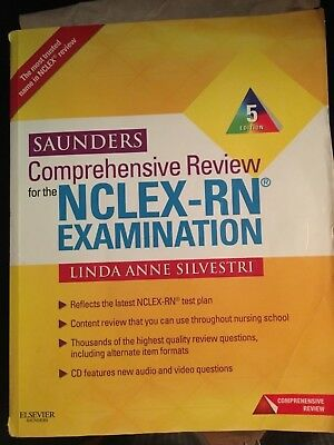 Saunders Comprehensive Review for the NCLEX-RN Examination plus CD-ROM