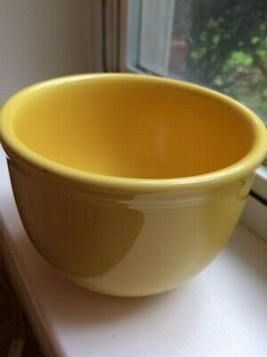 Homer Laughlin Fiesta Ware Yellow Cereal Gusto Bowl Daffodil Lead Free