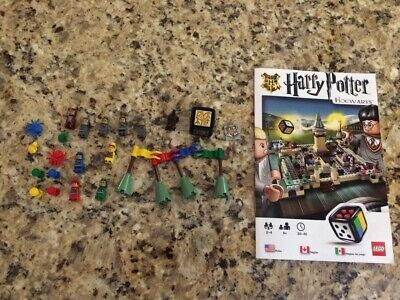 Lego Harry Potter Hogwarts Game 3862 Replacement Piece Lot Minifigures + More