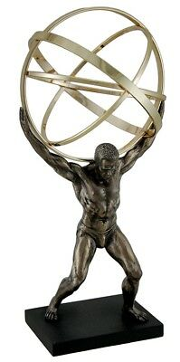 Atlas Carrying The Celestial Spheres Statue Sculpture