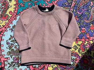 River Island Boys Knit Jumper - Pink, 3-6 Months