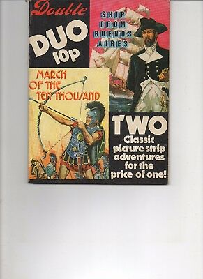 Double Duo Classic Comics Very Fine Rare Rare Comic