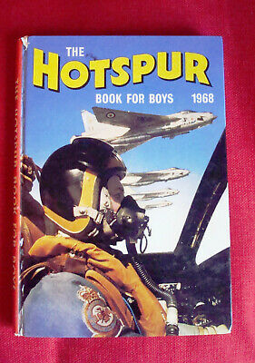 The Hotspur Book For Boys 1968 Vintage Adventure/Action Annual,Walker,TigersRyan
