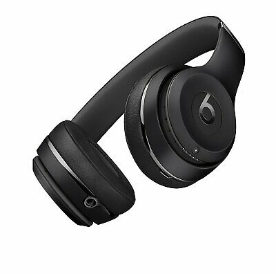 Genuine Beats By Dre Solo 3 Wireless W1 Headphones - MATTE BLACK Special Edition