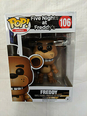 Funko Pop! Games - Five Nights At Freddy's - Freddy 106 (Damaged Outer Box)