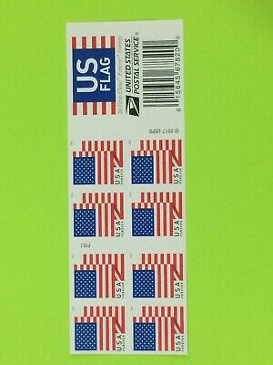 USPS New Book Of 20 Forever Flag Stamps Face Value $11.00 Free Shipping Flower