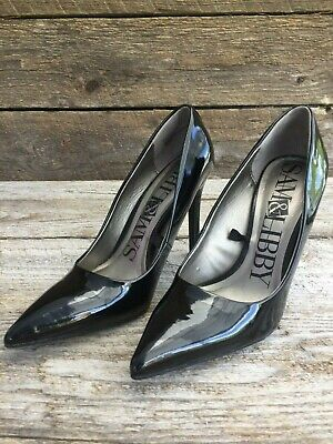 7c884aa112447 SAM & LIBBY Vintage 90s Womens Heels Size 8.5 Gray Pointed Toe 8 1/2 ...