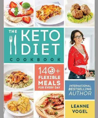The Keto Diet Cookbook: 140+ Flexible Meals for Every Day-⚡Get it in FEW mins⚡📥