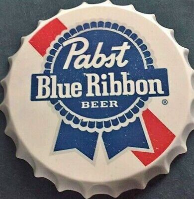 Pabst Blue Ribbon Bottle Cap Sign  - PBR