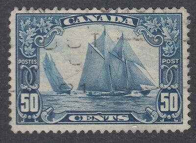 "Canada Scott #158 50 cent Bluenose ""Scroll""  F"