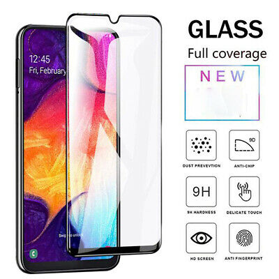 For Samsung Galaxy A20e Full Coverage Tempered Glass Screen Protector