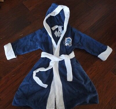 Company Store Kids Hooded Girl/'s Terry Beach Cover-Up White Large 15002-161A