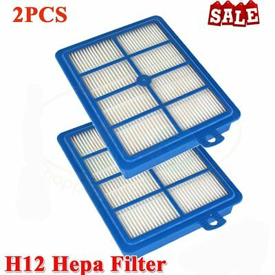 2 HEPA H12 Filter for Most Modern ELECTROLUX Vacuum Cleaner AU MQ
