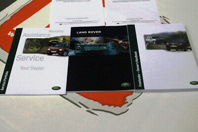 Genuine Land Rover Freelander 1 owners hand book service portfolio VDC000200