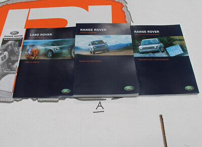 VDC50022FRE FRENCH Range Rover owners hand book service portfolio + audio