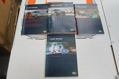VDC502190FRE FRENCH Freelander 1 owners hand book service portfolio + audio