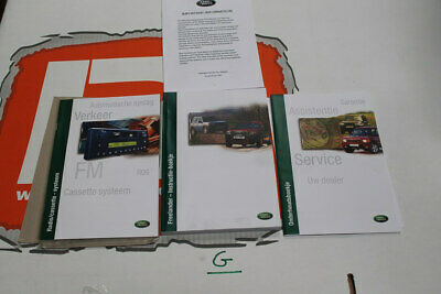 VDC000080DUT DUTCH Freelander 1 Owners hand book service portfolio + audio