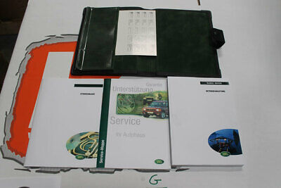 VDC101390 GERMAN Range Rover Owners Hand Book service Pack + Wallet
