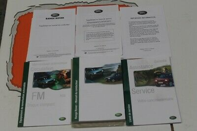 VDC000010FRE FRENCH Range Rover P38 Owners hand book pack